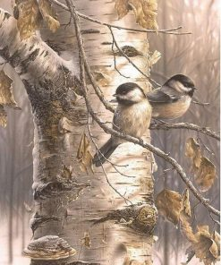 Birds Acrylic Paint - DIY Paint By Numbers - Numeral Paint