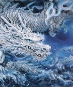 Dragon Animals Painting - DIY Paint By Numbers - Numeral Paint