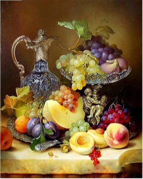 Fruits Modern Wall Art Picture Paint - DIY Paint By Numbers - Numeral Paint