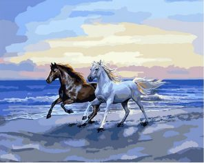 Horse Animals - DIY Paint By Numbers - Numeral Paint