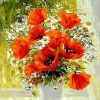 Picture Flower - DIY Paint By Numbers - Numeral Paint