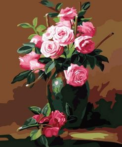 Modern Flower - DIY Paint By Numbers - Numeral Paint