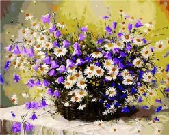 Picture Daisy Flowers - DIY Paint By Numbers - Numeral Paint