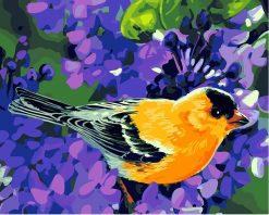 Bird Modern Wall Art Canvas - DIY Paint By Numbers - Numeral Paint