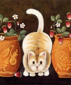 Cat Kits Animals - DIY Paint By Numbers - Numeral Paint