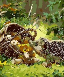 Animals - Paint by numbers - Numeral Paint