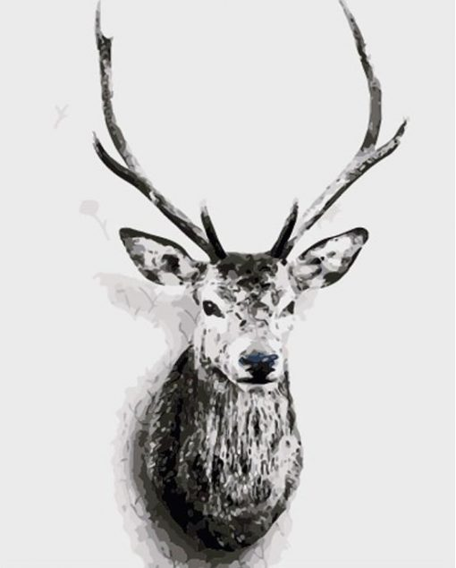 Deer Animals - DIY Paint By Numbers - Numeral Paint