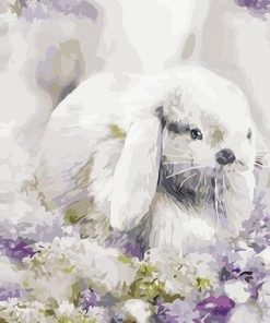 Small Rabbit paint by numbers
