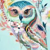 Colorful Owl - DIY Paint By Numbers - Numeral Paint