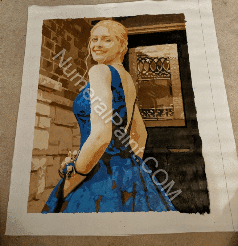 Custom Paint By Number Make Your Own Photo Numeral Paint