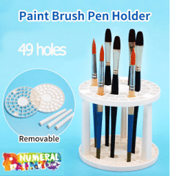 Painting Brush Holder - 49 holes