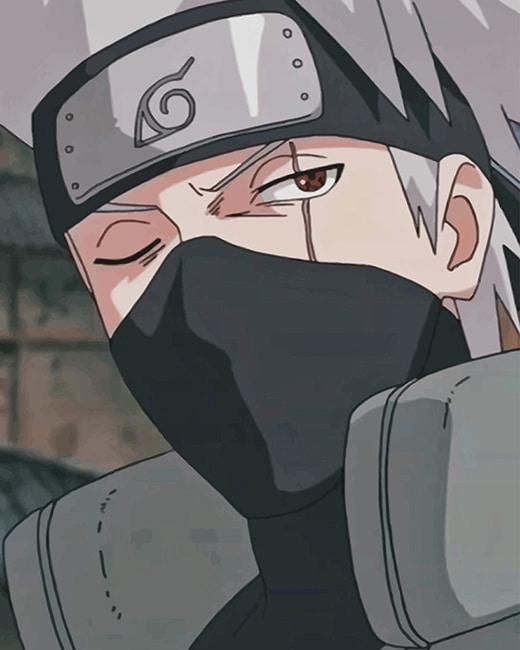 Kakashi Jutsu Naruto New Paint By Numbers Numeral Paint