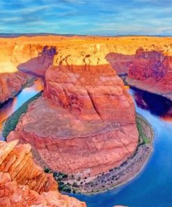 Amazing Grand Canyon Arizona paint by numbers