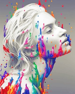 Color-splash-white-woman-adult-paint-by-numbers