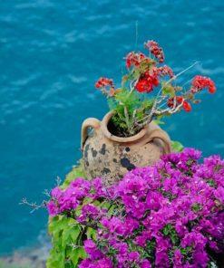 Amalfi Coast paint by numbers
