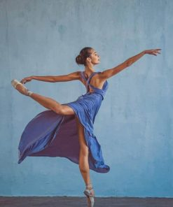 Female Ballet Dancer paint by numbers