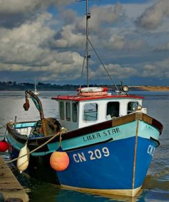 Fishing Trawler Paint By Numbers