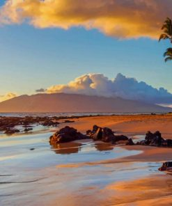 Hawaii Island paint by numbers