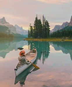 Jasper National Park Of Canada Paint By Numbers