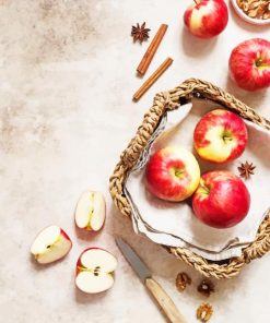 Red Apples Photography paint by numbers