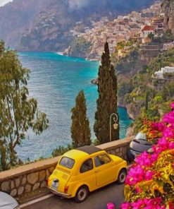 Amalfi View paint by numbers