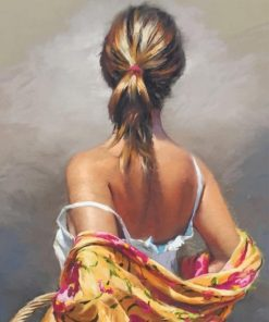 Blondy Woman paint by numbers