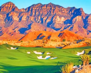 Coyote Springs Golf Course paint by numbers