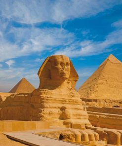 Great Sphinx Of Giza Egypt paint by numbers