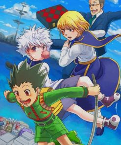 Hunter X Hunter paint by numbers