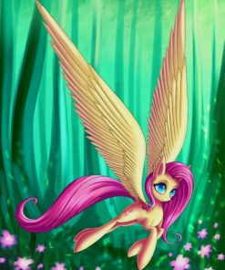 Little Pony Unicorn paint by numbers