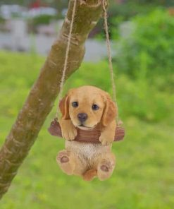 Little Puppy Swinging Paint by numbers