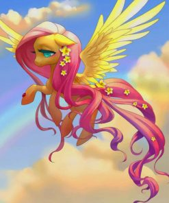 Pony With Wings paint by numbers