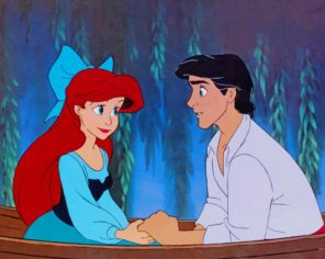 Prince Eric Little Mermaid paint by numbers