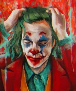 Sad Joker paint By Numbers