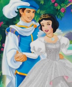 Snow White And Prince paint by numbers