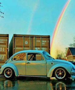 Volkswagen beetle paint by numbers