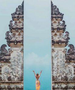 Yoga Penataran Lempuyang Bali Paint by numbers