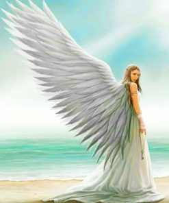 Angel Girl paint by numbers
