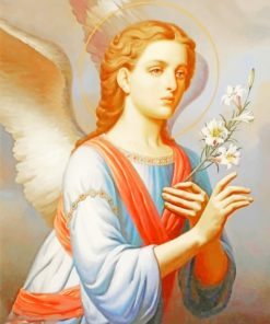 Angel Lady paint by numbers