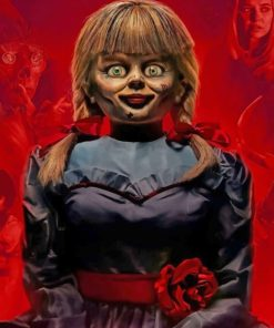 Annabelle Paint by numbers