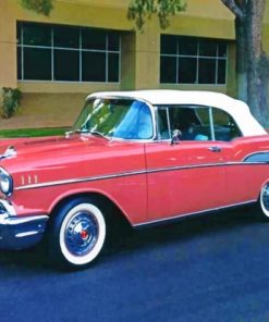 Chevrolet Bel Air paint by numbers
