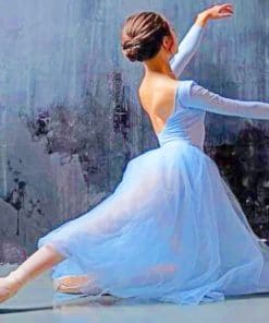 Classic Ballerina paint by numbers