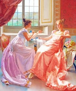 Classic Ladies paint by numbers