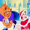 Disney Beauty And Beast paint by numbers