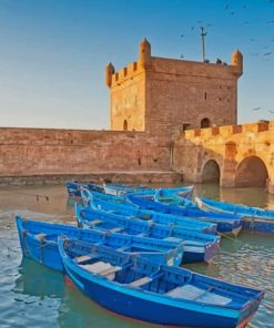 Essaouira Morocco paint by numbers
