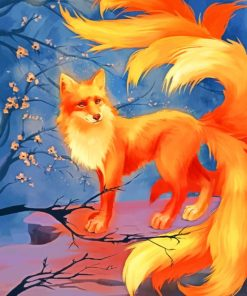 Fox Art paint by numbers