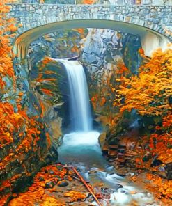 Mount Rainier National Park Washington State paint by numbers