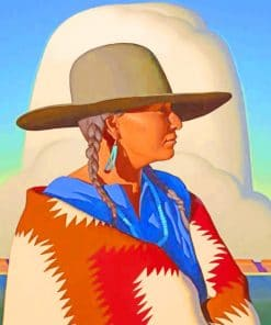 Native Indian Paint by numbers