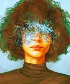 Ocean Eyes Girl paint by numbers