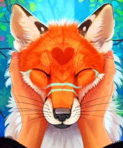 Red Fox Art Red Fox Art Paint by numbers